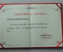 中国改性塑料行业十佳企业